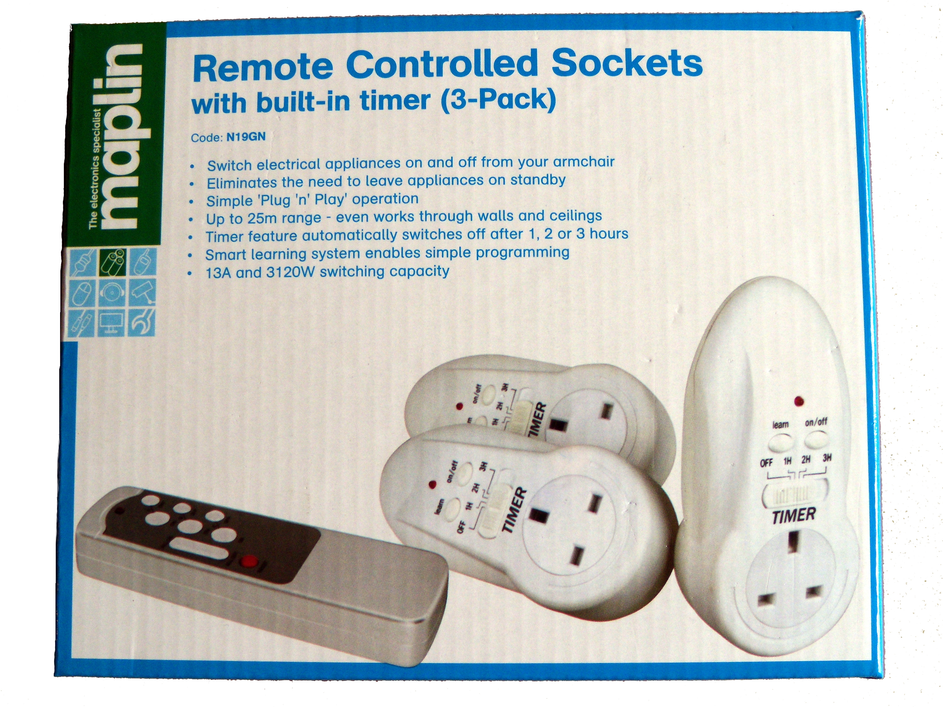 Hacking Remote Controlled Outlets Sconemad Appliance Switch Circuit Figure 1 The Original Outlet System I Bought