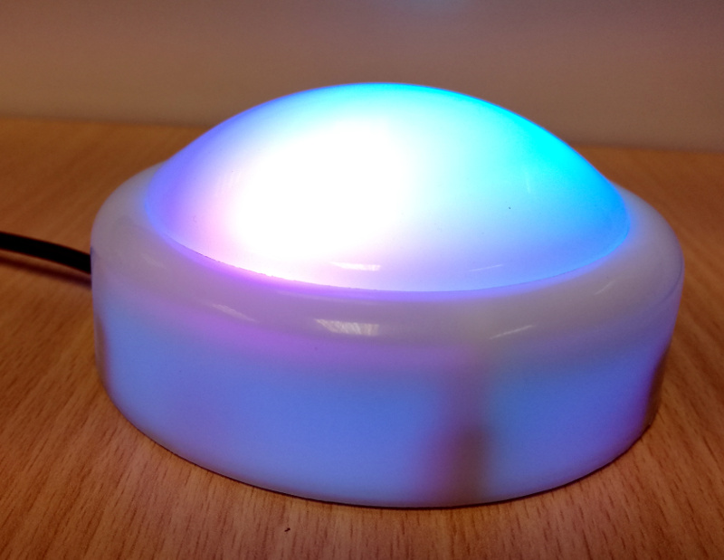 Raspberry Pi Night Light - sconemad
